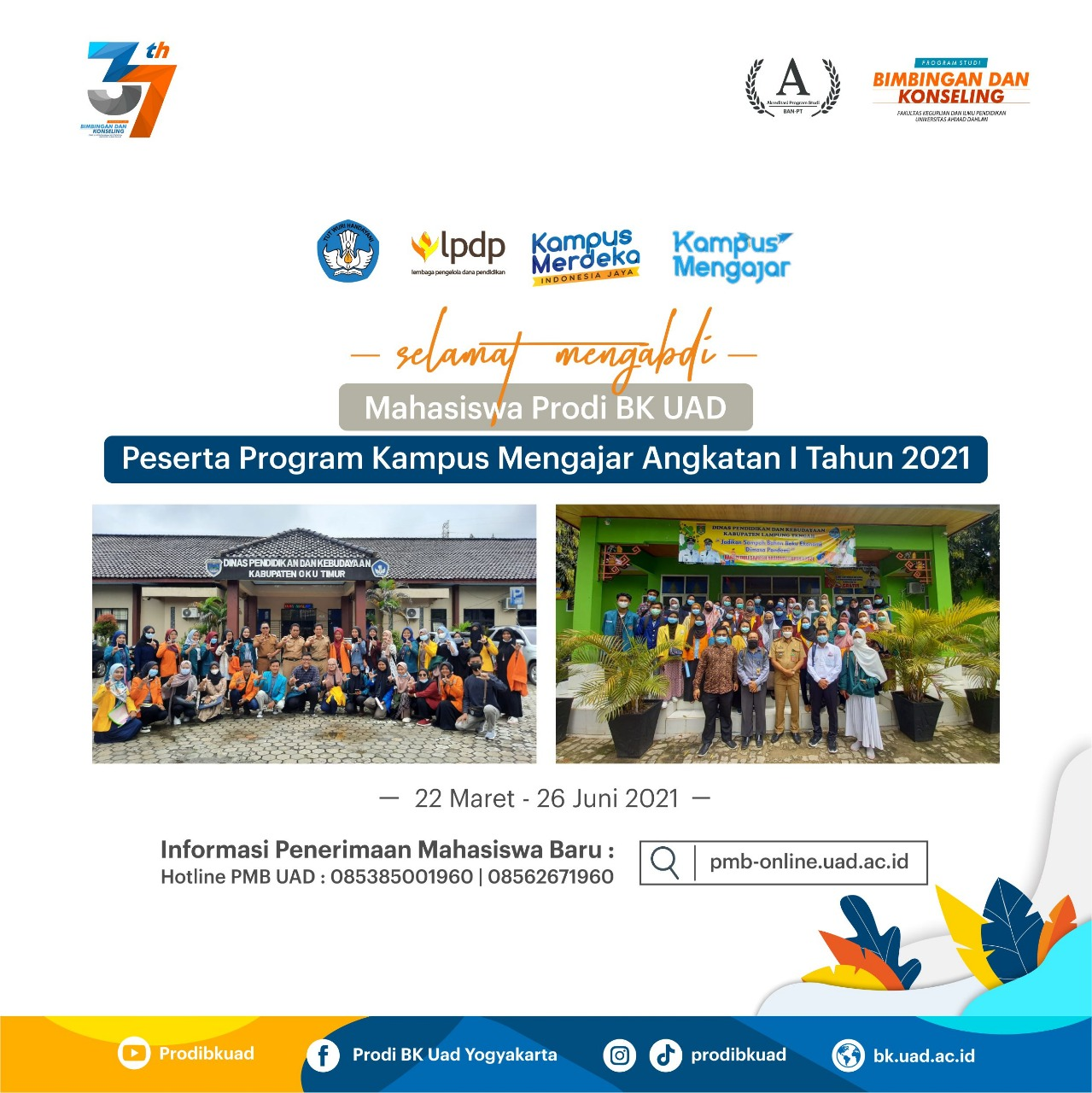 Program Kampus Mengajar BK UAD